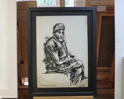 Uros Toskovic; Putnik sa broda; Grafika