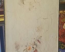 Cvijece; Cvetko Lainovic; Ulje na lesonitu