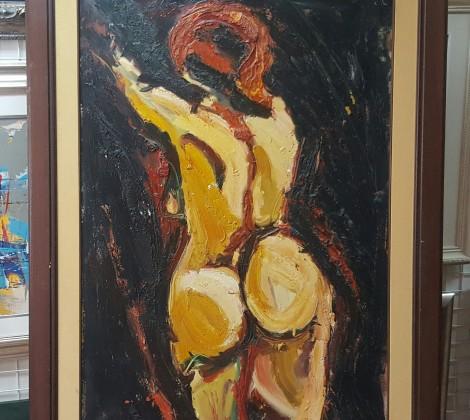 Ivana Tiodorovic; Akt; Ulje na platnu
